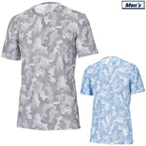 アプルラインド applerind カモ柄クルーネックTシャツ メンズアンダーウエア Crew-Neck T-Shirt/All Mesh Underwear 2019春夏 M-XL 全2色 JS1154|gp-store