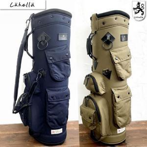 ラヘラゴルフ lahella golf ワックスドコットンスタンドキャディバッグ8.5型 カラー2色 L512|gp-store