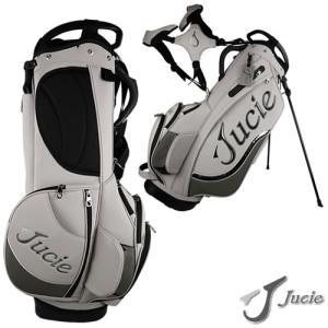 ジューシー JUCIE スタンドバッグ キャディーバッグ 9.0型(4.4kg) カラー:グレー×シルバーグレー|gp-store