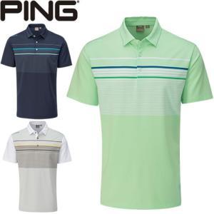 ピン PING ゴルフウェア スペンサー半袖ポロシャツ SPENCER 2020モデル メンズ S-XL 全3色 PO3402|gp-store