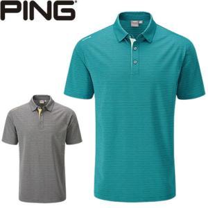 ピン PING ゴルフウェア セスマルチストライプ半袖ポロシャツ SETH 2020モデル メンズ S-XL 全2色 PO3403|gp-store