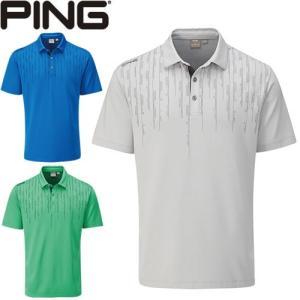 ピン PING ゴルフウェア カーボン半袖ポロシャツ CARBON 2020モデル メンズ S-XL 全3色 PO3404|gp-store