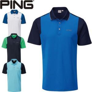 ピン PING ゴルフウェア ビスタ半袖ポロシャツ VISTA 2020モデル メンズ S-XL 全4色 PO3405|gp-store