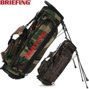 ブリーフィング BRIEFING ゴルフ スタンド式カモ柄キャディバッグ CR-4 #02 BRG203D22|gp-store