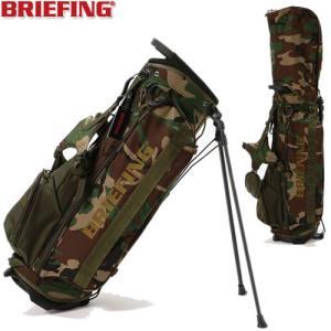 ブリーフィング BRIEFING ゴルフ スタンド式カモ柄キャディバッグ CR-4 #02 COMBI BRG204D01|gp-store