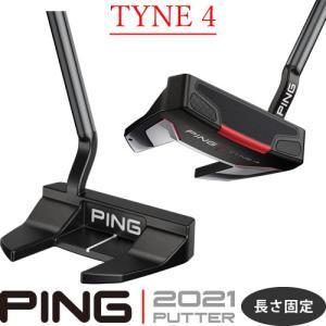 ピン パター タイン4 TYNE4 2021 PING PUTTER ネオマレット型 大型 長さ固定 左用あり|gp-store