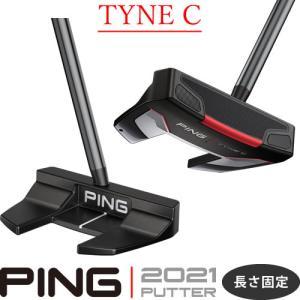 ピン パター タインC TYNEC 2021 PING PUTTER ネオマレット型 大型 センターシャフト 長さ固定 左用あり|gp-store
