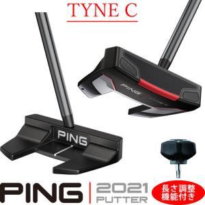 ピン パター タインC TYNEC 2021 PING PUTTER ネオマレット型 大型 センターシャフト 長さ調整機能付き 左用あり|gp-store