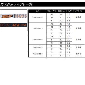 ピン G400 MAX ドライバー PING カスタム シャフト ツアーAD IZ グラファイトデザイン TOUR AD IZ アイズィー  日本仕様 左用あり ※2018年発売モデル|gp-store|06