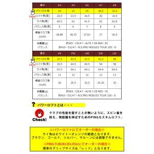 ピン G410 アイアン 単品 PING ゼロス6 ゼロス7 NSPRO ZELOS 6/7 日本シャフト スチールシャフト 左用選択可 カスタムオーダー|gp-store|04