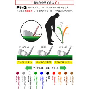 ピン G410 アイアン 単品 PING ゼロス6 ゼロス7 NSPRO ZELOS 6/7 日本シャフト スチールシャフト 左用選択可 カスタムオーダー|gp-store|08