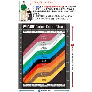 ピン G410 アイアン 単品 PING ゼロス6 ゼロス7 NSPRO ZELOS 6/7 日本シャフト スチールシャフト 左用選択可 カスタムオーダー|gp-store|09