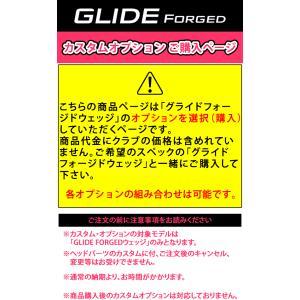 PING カスタムオーダー カラー 色入れ デザイン オプション ピン ウェッジ グライド フォージド 数量限定|gp-store|02