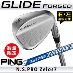 ピン ウェッジ グライド フォージド 数量限定 ゼロス ZELOS 7 NS PRO スチールシャフト  PING GLIDE FORGED WEDGE 日本仕様|gp-store