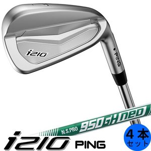PING i210 ピン ゴルフ アイアン セット 4本セット(7〜9番・PW) NSPRO950GH neo ネオ スチールシャフト 左用あり 日本仕様|gp-store
