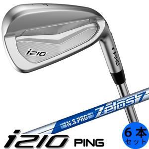 PING i210 ピン ゴルフ アイアン セット 6本セット(5〜9番・PW) ゼロス ZELOS 7 NS PRO スチールシャフト 左用あり 日本仕様|gp-store