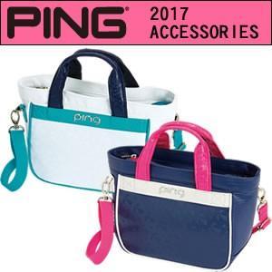 ピン PING ラウンド バッグ ポーチ ゴルフバック レディース ショルダーコード付き WP17 33465|gp-store