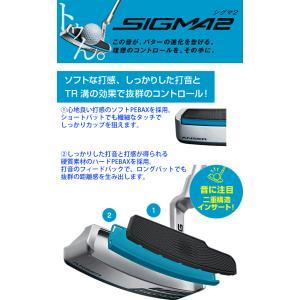 ピン ゴルフ  PING シグマ2 パター ハーフパイプ ミッドマレット 長さ調整機能付き 左用選択可 カスタムオーダー可 SIGMA2 HALF PIPE|gp-store|02