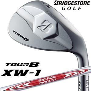 ブリヂストンゴルフ BridgestoneGOLF ツアービーエックスダブリュー1 TOUR B XW-1 ウェッジシルバー N.S.PRO MODUS3 TOUR120スチールシャフト|gp-store