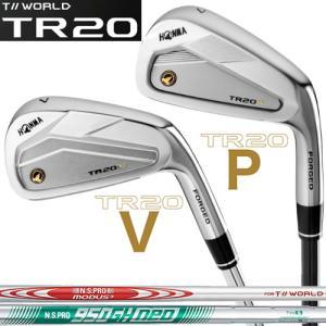 ホンマ ゴルフ T//WORLD TR20-V/P アイアンセット ツアーワールド 本間 N.S.PRO MODUS3/950GH neo スチールシャフト|gp-store
