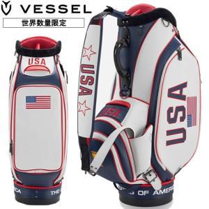 ベゼル VESSEL プレジデンツカップUSAスタッフバッグ 10型 2019 Presidents Cup Staff USA 100848|gp-store
