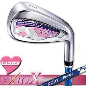 ダンロップ ゼクシオ10(テン) レディース アイアン XXIO X LADIES Iron 17年モデル 右用 MP1000L シャフト5本セット(#7〜9、PW、SW)|gp-store
