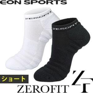 ゼロフィット ショートソックス 靴下 プロテクション ZEROFIT PROTECTION イオンスポーツ 【男女兼用】 【メール便対応】|gp-store