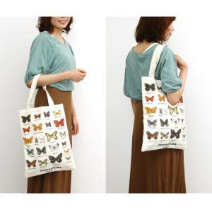 ギフトリパブリック gift republic Butterflies トートバッグ バタフライ【蝶々 バッグ エコバッグ】|gpecoe|02