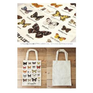 ギフトリパブリック gift republic Butterflies トートバッグ バタフライ【蝶々 バッグ エコバッグ】|gpecoe|03