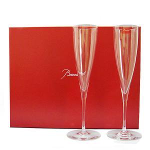 バカラ BACCARAT グラス ペア シャンパンフルート シャンパングラス ドンペリニヨン DOM PERIGNON #1845244 送料無料|gport