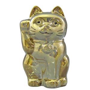 バカラ BACCARAT クリスタル フィギュア ラッキーキャット LUCKY CAT 招き猫 ゴー...
