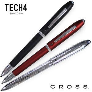 CROSS クロス テックフォー TECH4 マルチペン(ボールペン黒/赤/青・0.7mmシャープペン) AT0610 3色展開 【DM(メール)便NG】 【在庫限り】