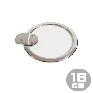 クリステル CRISTEL フラット ガラスふた 16cm K16SA|gport