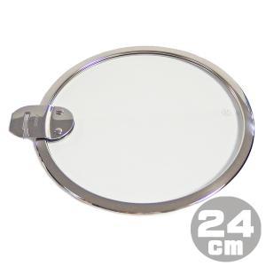 クリステル CRISTEL フラット ガラスふた 24cm K24SA ※Lシリーズ グラフィット 使用OK|gport