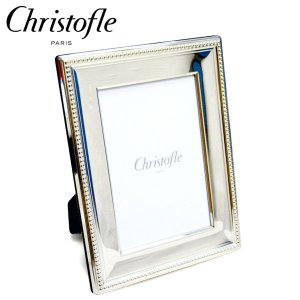 クリストフル Christofle パール フォトフレーム (10×15cm・ポストカードサイズ) 4256002 【送料無料】|gport