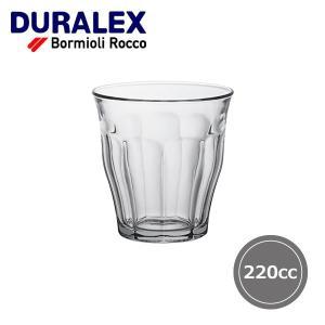 デュラレックス DURALEX タンブラー ピカルディ 220cc 6個セット #1026AB06|gport