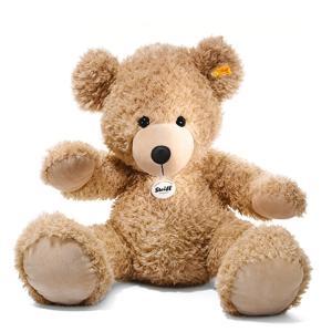 シュタイフ Steiff テディベア フィン ベージュ 80cm Fynn Teddy bear 111389 くま ぬいぐるみ 送料無料 ラッピング不可 熨斗不可|gport