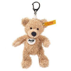 シュタイフ Steiff キーリング テディベア フィン ベージュ 12cm FYNN Teddy bear Keyring 111600 キーホルダー くま 熨斗不可|gport