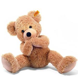 シュタイフ Steiff テディベア フィン ベージュ 40cm FYNN Teddy bear 111679 くま ぬいぐるみ 熨斗不可|gport
