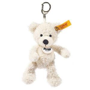 シュタイフ Steiff キーリング テディベア ロッテ ホワイト 12cm LOTTE Teddy bear Keyring 111785 キーホルダー くま 熨斗不可|gport