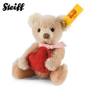 シュタイフ Steiff ミニテディベア ハート Mini Teddy bear heart 28915 【熨斗不可】|gport