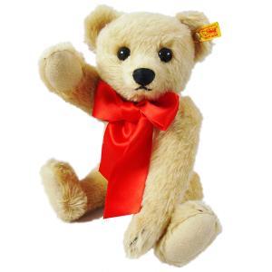 シュタイフ Steiff テディベア 1909 ブロンド 35cm Classic 1909 Teddy bear 379 くま ぬいぐるみ 送料無料 熨斗不可|gport