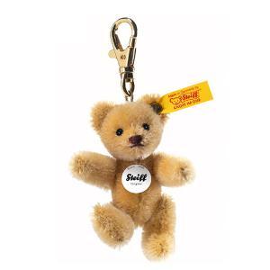 シュタイフ Steiff テディベア キーリング キーホルダー ブロンド Keyring Mini Teddy bear 39089 【熨斗不可】 gport