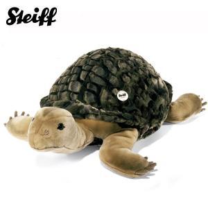 シュタイフ Steiff かめのソロ 70cm Slo tortoise -greeen- 68478 【送料無料】【ラッピング不可】【熨斗不可】|gport