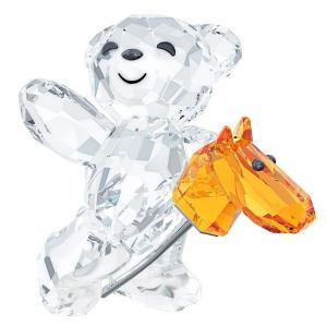 スワロフスキー SWAROVSKI クリスタル フィギュア クリスベア SCS Kris Bear - Let's ride! #5098309 ○【在庫限り】|gport