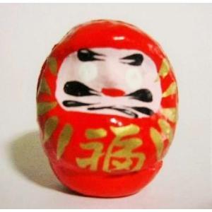 風水カラーだるま(ミニサイズ)赤(ダルマ・達磨)