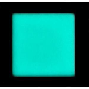 安全対策・景観材に光るタイル/高輝度・長残光 蓄光タイル 壁用45mm角 ブルー|gppro