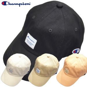 Champion キャップ チャンピオン コットン 帽子 ローキャップ シンプル  アメカジ ストリート|gpstore