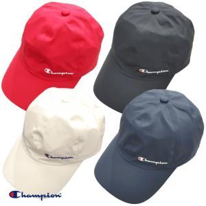 Champion キャップ チャンピオン 帽子 防水 ローキャップ スポーツ ジョギング ウォーキング 雨|gpstore