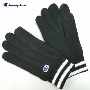 Champion チャンピオン 手袋 グローブ ニット Knit Glove 冬 防寒 小物 ギフト プレゼント (ネコポス便) gpstore